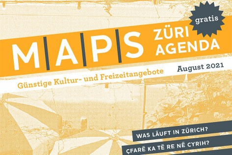 MAPS Züri Agenda Cover