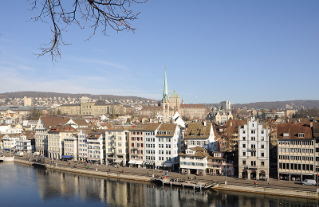 View from Lindenhof