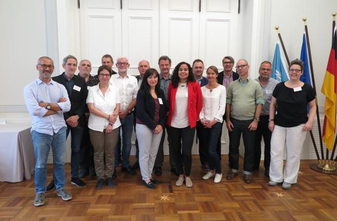 Delegates at the ECCAR meeting in Bonn