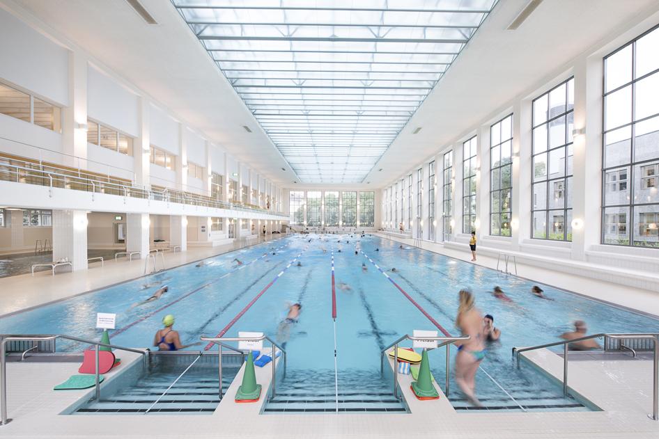 Hallenbad city stadt z rich - Oerlikon swimming pool ...