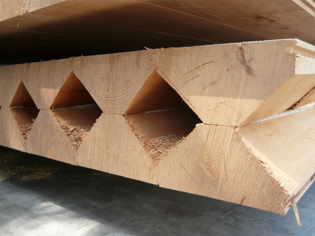 innovative konstruktion mit holz aus dem stadtwald stadt. Black Bedroom Furniture Sets. Home Design Ideas