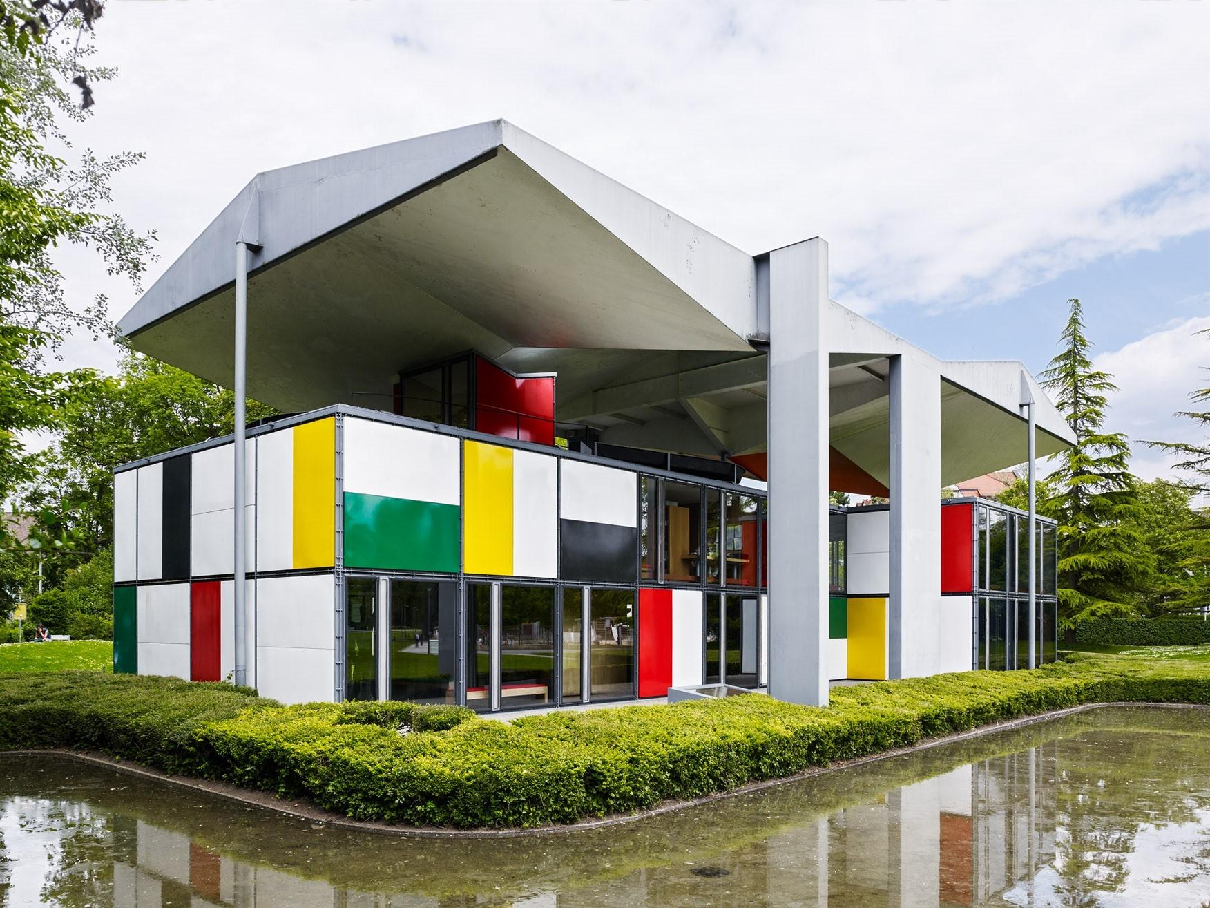 Pavillon le corbusier city of zurich - Pavillon residentiel moderne gurney architecte ...