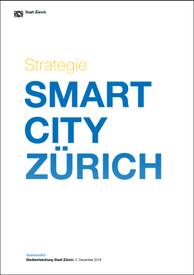 Titelseite Strategie Smart City Zürich