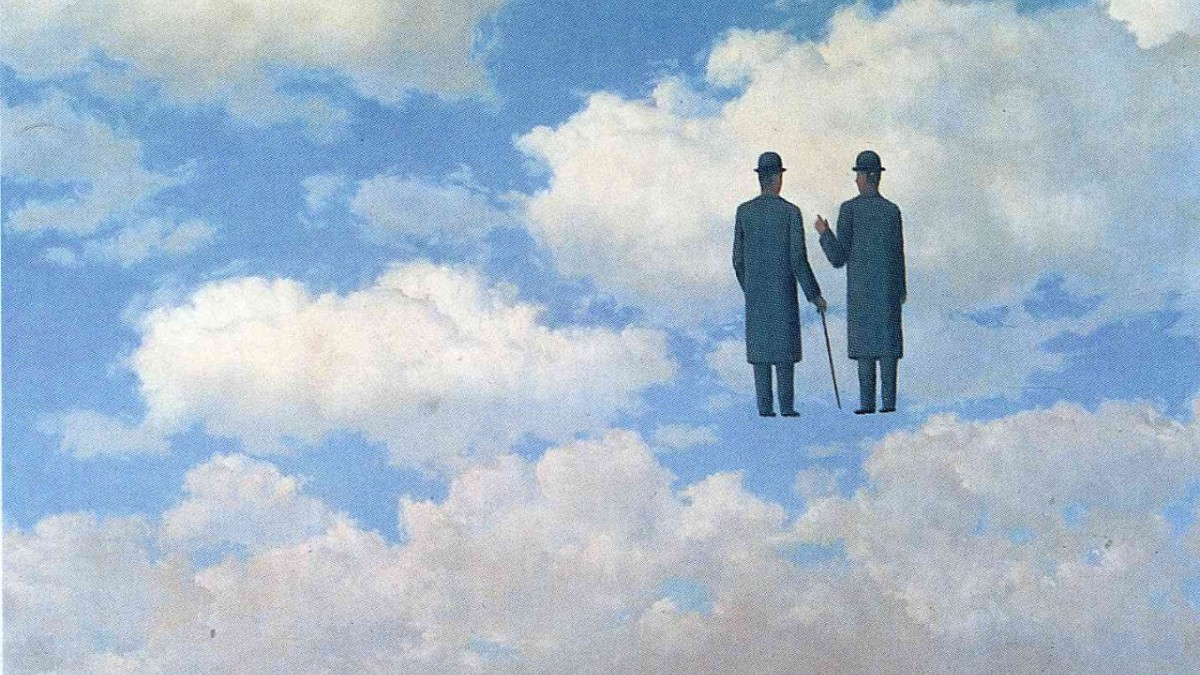 René Magritte, The Infinitive Recognition, 1963
