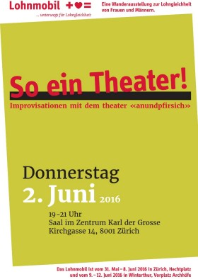 Cover Flyer «So ein Theater!»