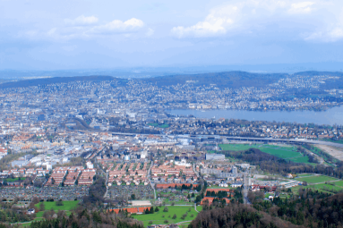 Panoramic view on Zurich