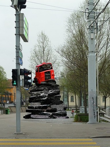 Ilona Ruegg: «On the road». Foto: © Ilona Ruegg. Courtesy Künstlerin & Galerie Mark Müller, Zürich