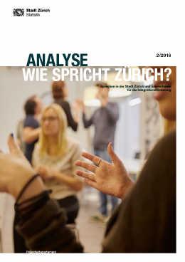 Wie spricht Zürich? (E-Paper)