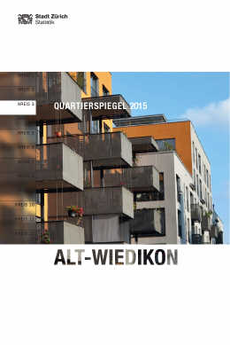 Quartierspiegel Alt-Wiedikon (E-Paper)
