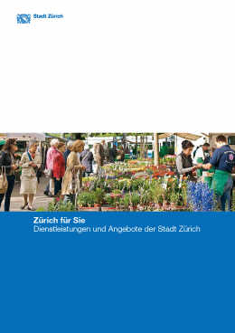 Zürich für Sie (E-Paper)