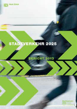 Programm Stadtverkehr 2025: Bericht 2013 (E-Paper)